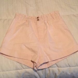 Scrunched waistband shorts